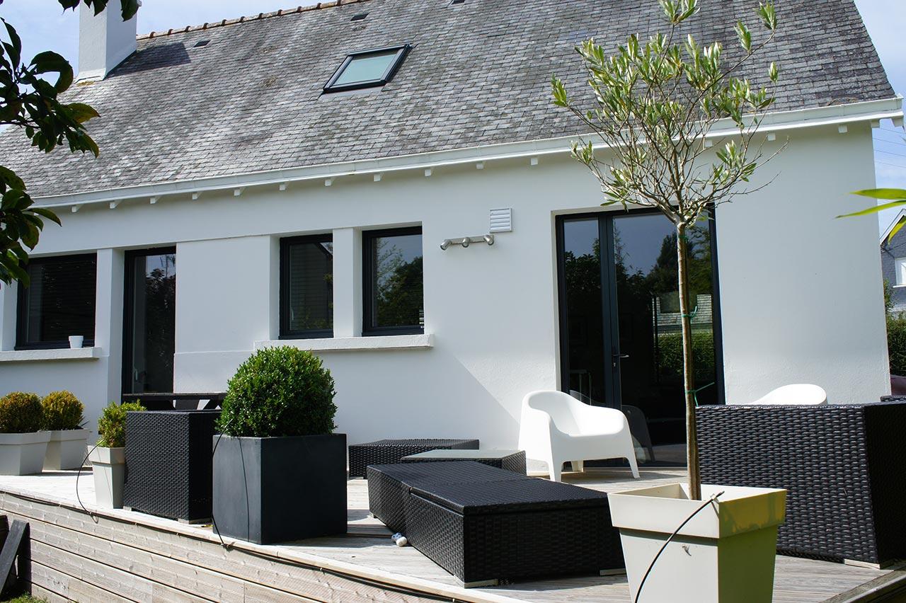 r novation et am nagement de maisons concarneau quimper. Black Bedroom Furniture Sets. Home Design Ideas